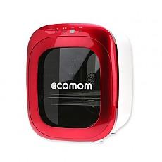 ECO-70KA 에코맘 젖병소독기 고급형-레드(Red) 문화상품권+램프